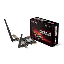 ac 8265. msi wireless - ac intel 8265 dual band (2.4/5 ghz) 2x2 802.11 ac
