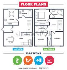 floor plan furniture symbols bedroom. Architecture Plan With Furniture. House Floor Plan. Emergency Exit Icons. Fire Extinguisher Sign Furniture Symbols Bedroom T