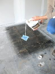 removing tile from concrete floor top how to remove tile mastic from concrete floor y67 in