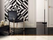 <b>Керамический бордюр Versace Home</b> Marble Fas.Greca Nero 11 ...