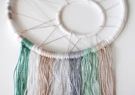 Materials To Make Dream Catchers New Make A Modern Dreamcatcher