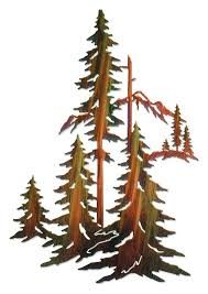>forest pine trees metal wall art wild wings 5512231589 i forest pine trees i metal wall art