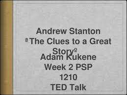 TED Presentation by Adam Kukene - [PPTX Powerpoint]