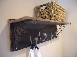 Rustic Coat Rack With Shelf DIY Rustic Coat Rack and Shelf Clockwork Interiors 28