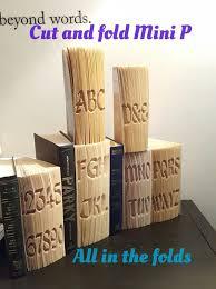 cut and fold book folding alphabet patterns tutorials and free starter patterns on allinthefolds co uk