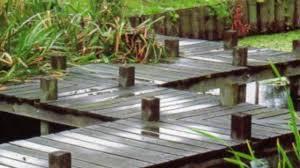 Japanese Style Garden Bridges Diy Build Japanese Garden Bridge Youtube