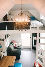 Small Loft Bedroom Simple How To Build A Tiny House Lakes British Columbia And