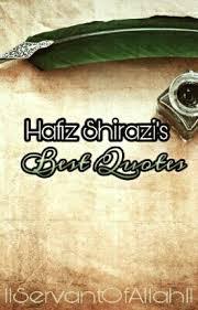 Hafiz Quotes Adorable Hafiz Shirazi's Best Quotes Tahoora Wattpad