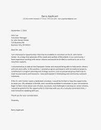 Volunteer Cover Letter Samples Sample Email Cover Letter For A Volunteer Position