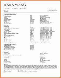 Excellent Sample Actor Resume No Experience Contemporary Residential