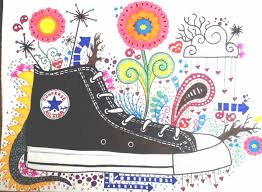 hanging converse shoes drawing. converse shoe hanging shoes drawing