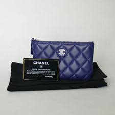 chanel zip coin purse. chanel lambkin quilted small zip coin pouch in neon purple purse l