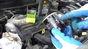 How to change oil filter VVT-i engine Toyota. Year models 2000-2007 ...