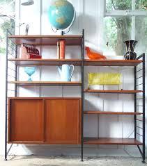 mid century shelving image of staples mid century shelving system mid century modern wall shelves diy
