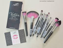 sedona lace vortex synthetic professional makeup brush set review indian makeup