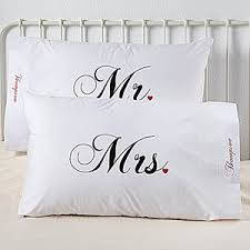 customize wedding robes towels pillowcases blankets and other personalized gifts for the newlywed couple s bedroom and bath