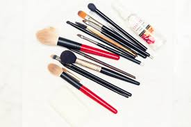 fyi you might be cleaning your makeup brushes the wrong way