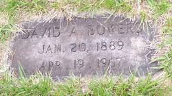 David Alexander Bowers (1889-1967) - Find A Grave Memorial