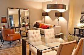 small condo living room dining room combo