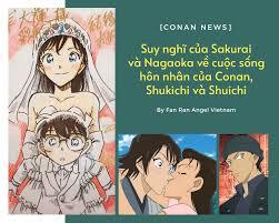 CONAN NEWS] Biên kịch Sakurai và... - Fan Ran Angel Vietnam