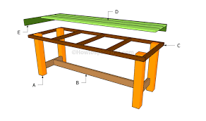 how to build a patio table
