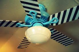 custom painted ceiling fan blades designs ideas