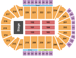 Resch Center Seating Chart With Seat Numbers Resch Center Seating Chart Green Bay