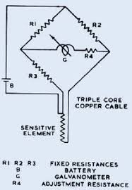 the platinum resistance thermometer johnson matthey technology circuit diagram of a three wire platinum resistance thermometer and bridge