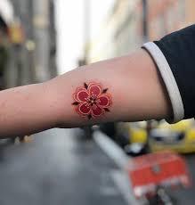 50 фото тату цветок сакуры символ изящества и красоты Tattooassist