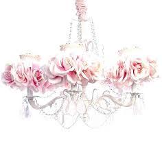 pink chandelier lamp photo princess bedside