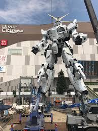 life size unicorns the life sized unicorn gundam statue work in progress update 26th