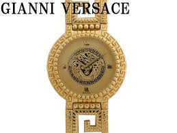 life time rakuten ichiba rakuten global market gianni versace gianni versace medusa quartz mens watch 0613 gianni versace gold black