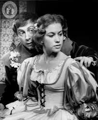 Nicholas Kepros and Constance Booth in The Winter's Tale, 1963 - SDSU  Library Digital Collections