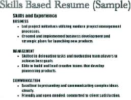 Sample Resume Skills List Sample Resume Skills Sample Resume Extraordinary List Of Skills And Abilities For Resume