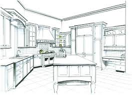 interior design kitchen drawings. Exellent Interior Kitchen Design Sketch Interior Sketches Mind Blowing  Designer Best Creative With Drawings W