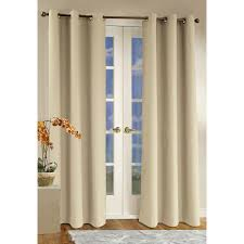 patio ideas patio door curtain rods with cream shades and wooden from patio door traverse curtain