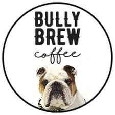 Filled hot cocoa powder and marshmallows. Bully Brew Coffee