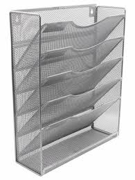 easypag 6 tier a4 mesh wall hanging