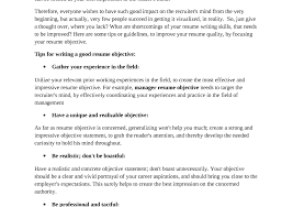 How To Write A Good Resume For Your First Job Business Letters