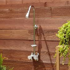 Outdoor Shower Exposed Outdoor Indoor Shower Unit Bathroom
