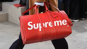 louis vuitton and supreme. supreme louis vuitton duffel bag and