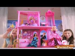 2016 º barbie princess charm carriage and castle mercial