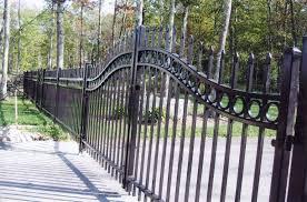 metal fence styles. Iron-fence-panels-the-landscape-design-image-of_decorative-metal-fencing_home-decor_home-decorators-coupon-decor-stores-decoration-liquidators-christian- Metal Fence Styles