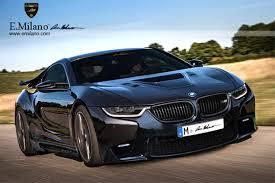 E Milano Does The BMW I8  E
