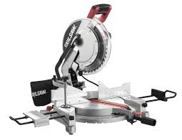 miter saw labeled. skil 3821-01 12-inch quick mount compound miter saw with laser labeled