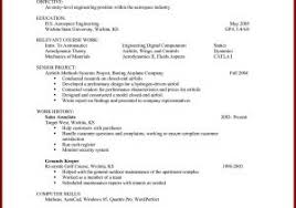 Simple Resume Examples For College Students For Free Simple Resume ...