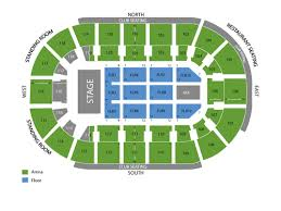 Germain Arena Seating Chart And Tickets
