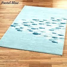 tropical wool area rugs theme beach schooled fish rectangle rug vero la coastal style area rugs