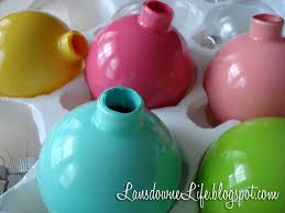 back painted glass ornaments
