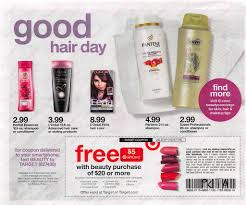 next week their will be an in ad target coupon for a free 5 gift card with a beauty purchase of 20 or more text beauty to 827438 for mobile version the